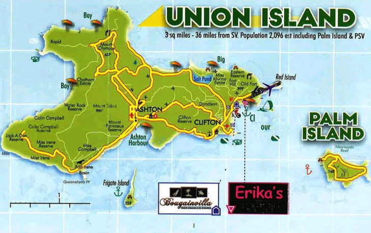 Iles grenadines Union